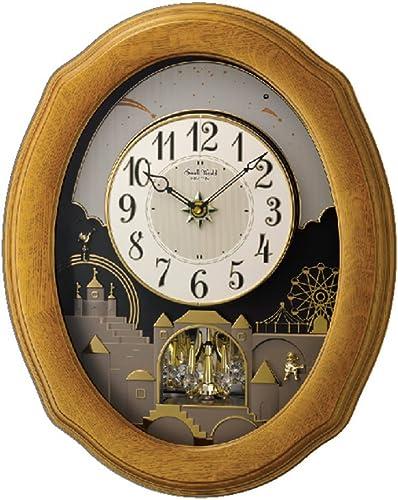Rhythm Clocks Timecracker Golden Oak II by