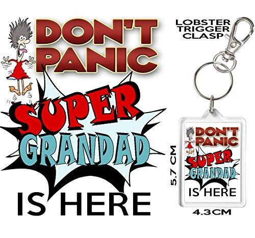 Don t Panic - Super abuelo es aquí, novedad llavero ...