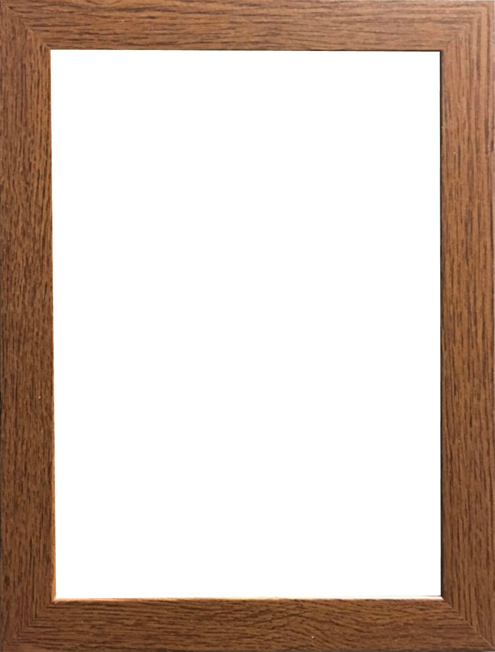 Marco de fotos moderno, con acabado de madera, en varios tamaños, madera MDF, negro, 60 x 50 cm: Amazon.es: Hogar