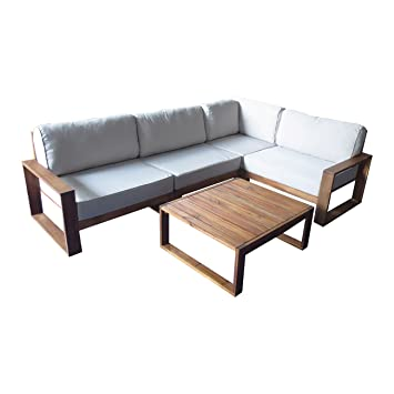 Gartenlounge aus holz  Amazon.de: Loungemöbel Holz OUTLIV. Santa Cruz Loungemöbel Outdoor ...