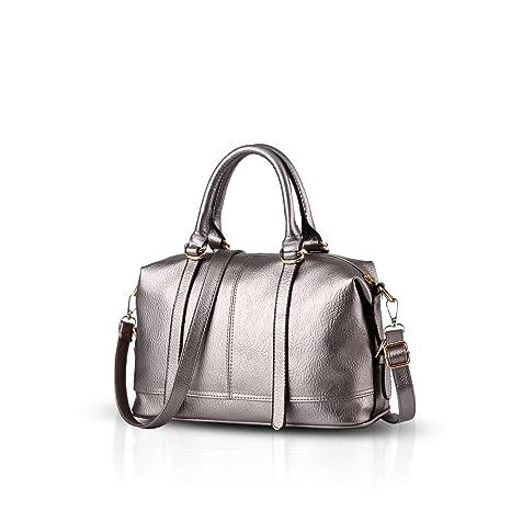 8be8968c2e Nicole Doris Fashion Handbags Retro Casual Handbag Shoulder Bag Messenger  Women Purse(Silver)  Amazon.in  Bags