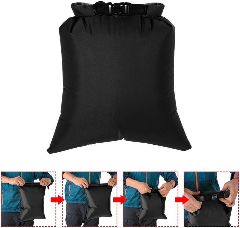 5L Outdoor Dry Sacks pour Camping//Randonn/ée//Voyager Ultralight Lixada Pack de 3 Sac /étanche Type 4 8L 3L
