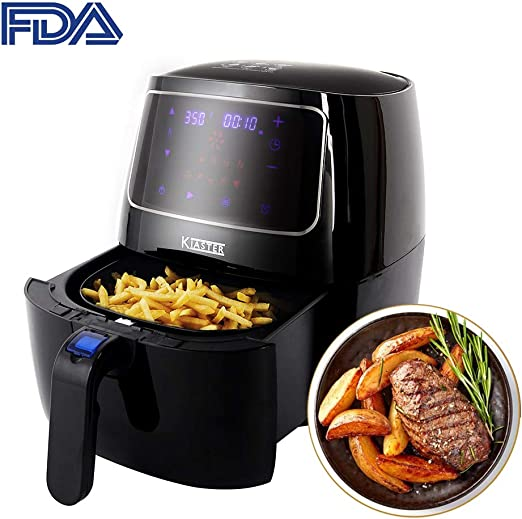 Air Fryer Healthy Oil-less Home Kitchen Cooking Equipment Touch Screen 3.7QT