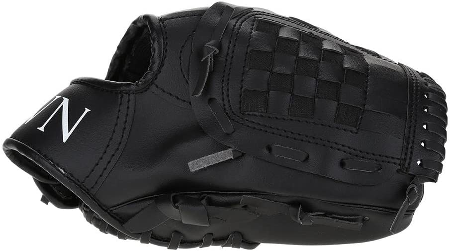 Huairdum Baseball Glove Professional Tee Ball Pitcher Hand Players Infield Left Hand Throw Catchers Gloves for Practicing Training Competition
