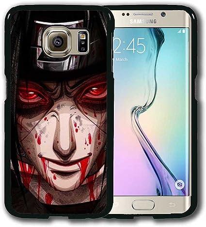 Itachi Uchiha Coque Samsung Galaxy S6 Edge (pour S6 EDGE) Coque ...