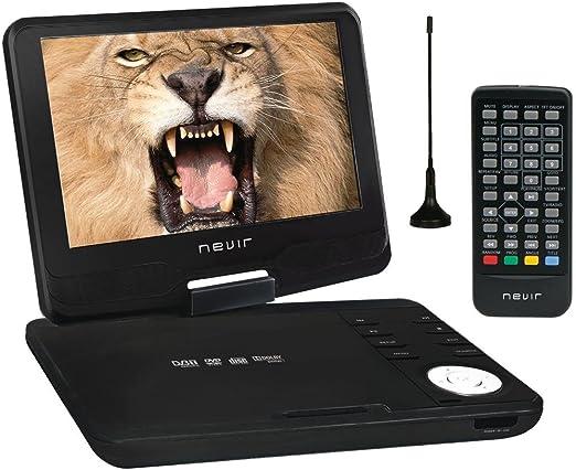 Nevir NVR-2760 DVD-PGCUTHD - Reproductor de DVD portátil: Amazon ...