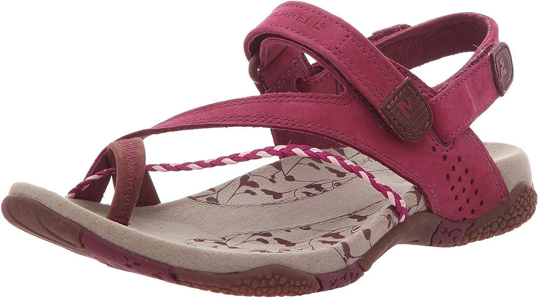 Merrell - Sandalias de Cuero para Mujer