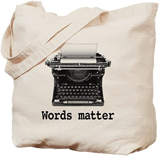 Words Matter Tote for Writers