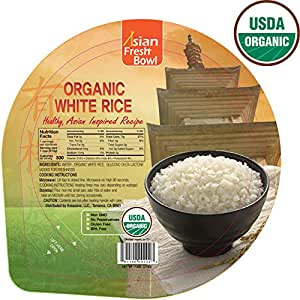 Amazon.com : Microwaveable Organic Steamed White Instant