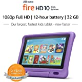 "All-New Fire HD 10 Kids Edition Tablet – 10.1"" 1080p full HD display"