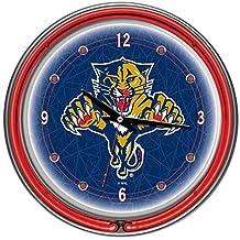 Trademark Montreal Canadiens Neon Clock
