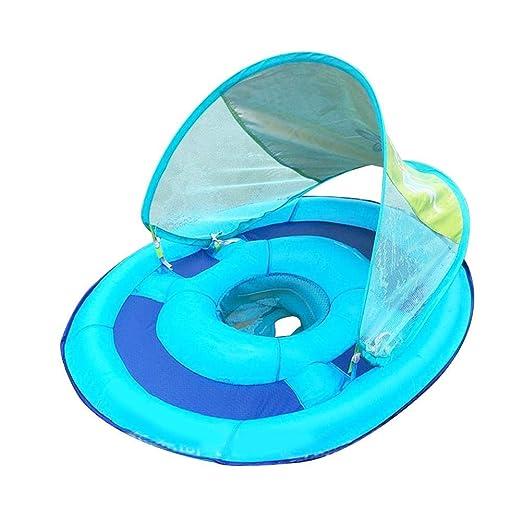 Juman634 Piscina Inflable para bebés con sombrilla Malla del ...