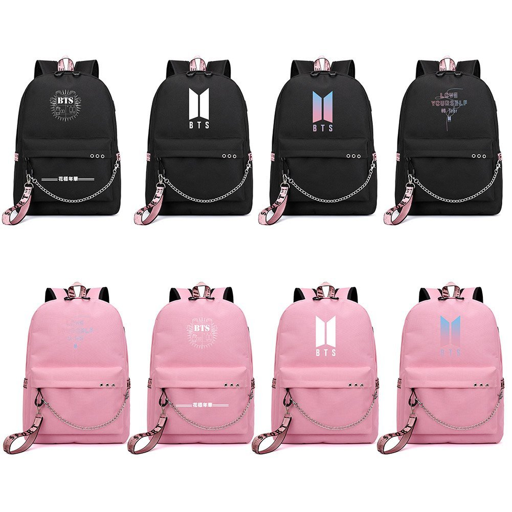 Amazon.com: Bosunshine BTS Love Yourself V Suga Jin Jimin Jung Kook Casual Backpack Daypack Laptop Bag College Bag Book Bag School Bag (B-002): Toys & Games
