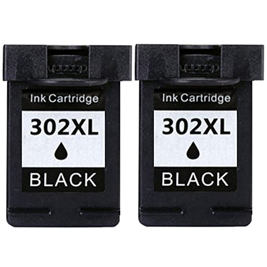 8 opinioni per Jalee 2 pacchi Nero Rigenerata Cartucce d'inchiostro per HP 302 XL
