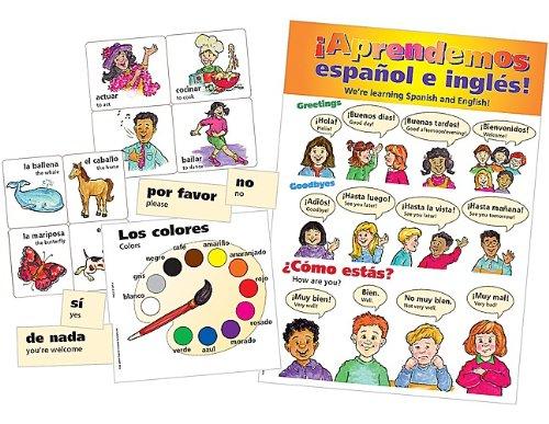 Teacher Created Resources Spanish Bulletin Board Display Set (4400)