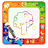 2018 Newest Children Magical Water Canvas, 1 Magic Pen + 1 Painting Board Toy Kids Education Graffiti Color Painting Drawing Toys Gift