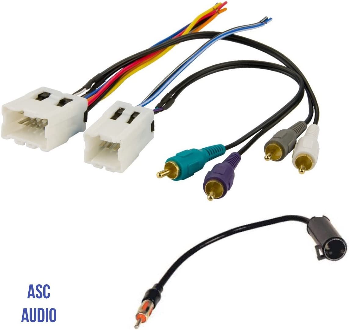 [ZHKZ_3066]  Amazon.com: ASC Audio Car Stereo Radio Wire Harness and Antenna Adapter to  Aftermarket Radio for some Infiniti G35 FX35 FX45 Nissan 350z Altima Maxima  etc. w/ Bose Factory Amp - Vehicles listed | Infiniti Wiring Harness |  | Amazon.com