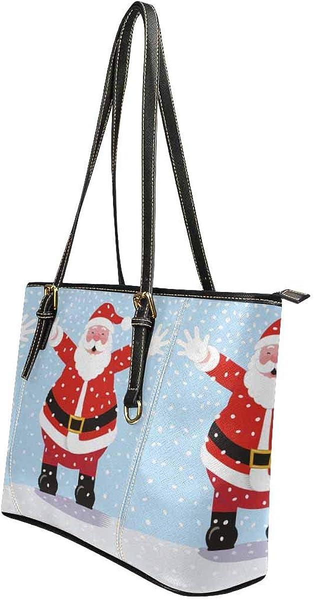 Popular And Flattering Santa Claus Womens fashion Handbags Shoulder Bags Handle Satchel