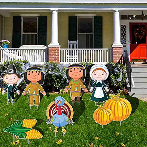 Lawn Decorations: Thanksgiving