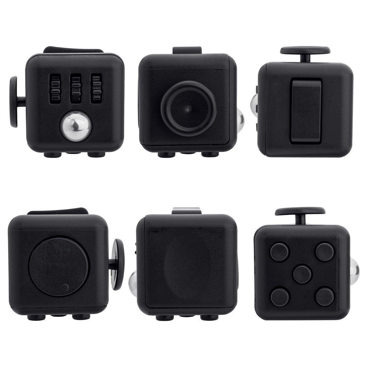 Black Fidget Cube 0705511934423