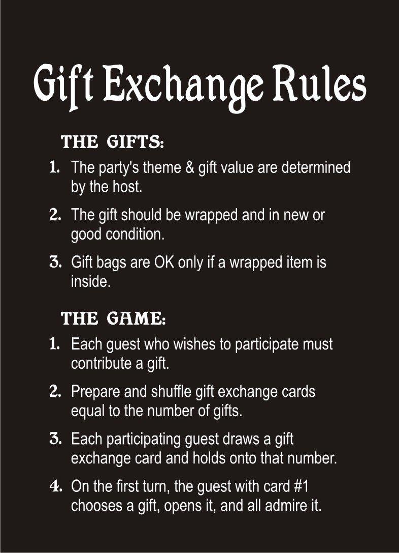 Amazon.com: White Elephant Gift Exchange Card Game by White Elephant ...