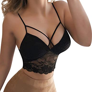 d2404af9cc6c1 Sexy Women Solid Bralette Bustier Crop Top Bra Shirt Vest