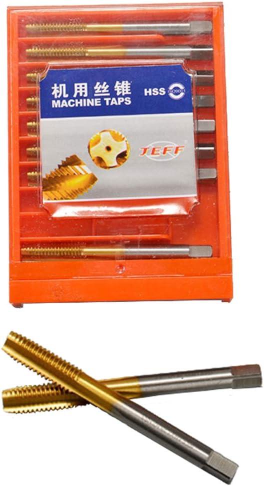 Machos de Roscar Manuales de Alta Velocidad Reemplazo para Reparaci/ón M10x1.5mm