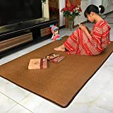 Living room bedroom mats Creeping mats for children Bay window mat-D 200x220cm(79x87inch)