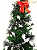 6 Pieces Tinse Garland For Halloween Tree or Door Windows Decoration, Shinny Party Accessory TG004