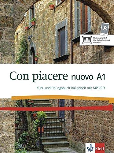Con piacere nuovo A1: Kurs- und Übungsbuch mit MP3-CD