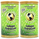 Great Lakes Gelatin, Certified Paleo Friendly, Pasture-Raised Grass-Fed, Collagen Hydrolysate, Collagen Peptides, Non GMO, 16 oz, 2-Pack, FFP