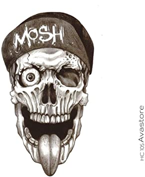 Tatouage Temporaire Homme Mosh Heavy Metal Tatouage Ephemere Homme Mosh Heavy Metal Avastore Amazon Fr Beaute Et Parfum