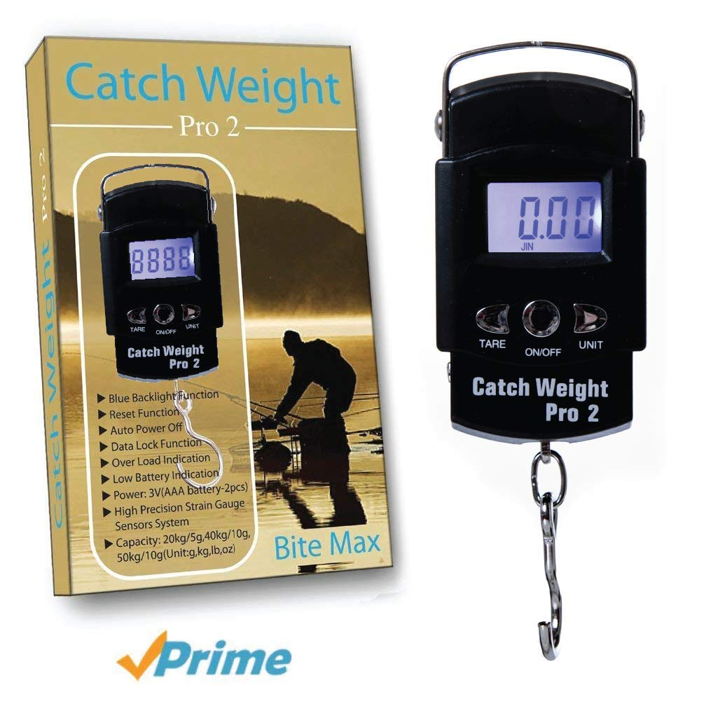 Catch Weight Pro 2 Báscula Portátil Digital Para Pesca Te Presentamos ¡Lo Último En Tecnología Digital En Básculas De Mano Para Pesca! De Diseño ...