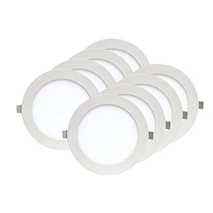 Amazon.com: Ultra-thin LED 4 inch lámpara empotrada con ...