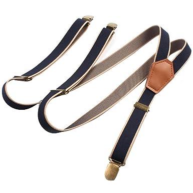 la vente de chaussures nouveau produit style exquis Westeng Bretelle Vintage avec 3 clips Bretelle au dos Forme ...