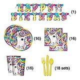 Lisa Frank Rainbow Majesty Unicorn Birthday Party