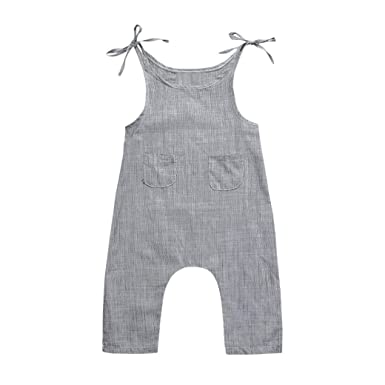 eaf540cc8514 JYC Infant Baby Boy Girl Long Sleeve Romper Jumpsuit with Bottons ...