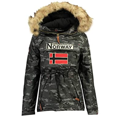 Homme Boomerang Camouflage Blousondoudoune Norway Geographical qZITff
