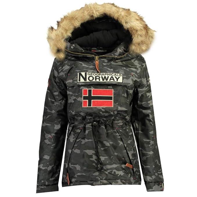 Geographical Norway Chaqueta de Esqui de Hombre Camuflage ...