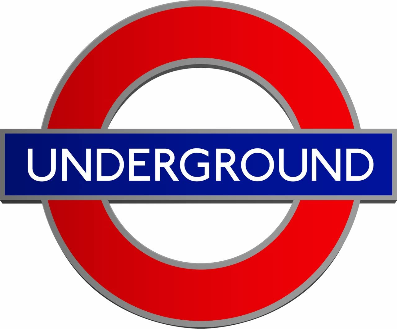 Image result for london underground sign""