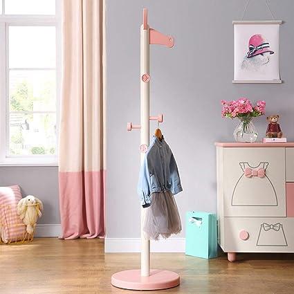 Amazon.com: XQY - Perchero de madera para niños y ...