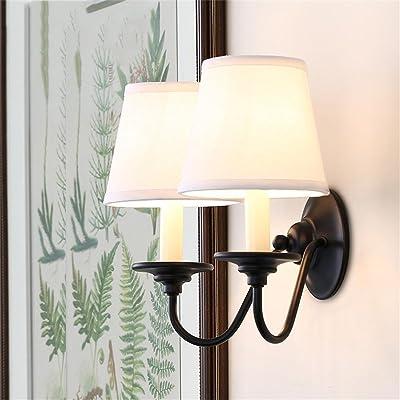 TOYM UK American Iron - Style Applique Intérieur Salon Chambre ...