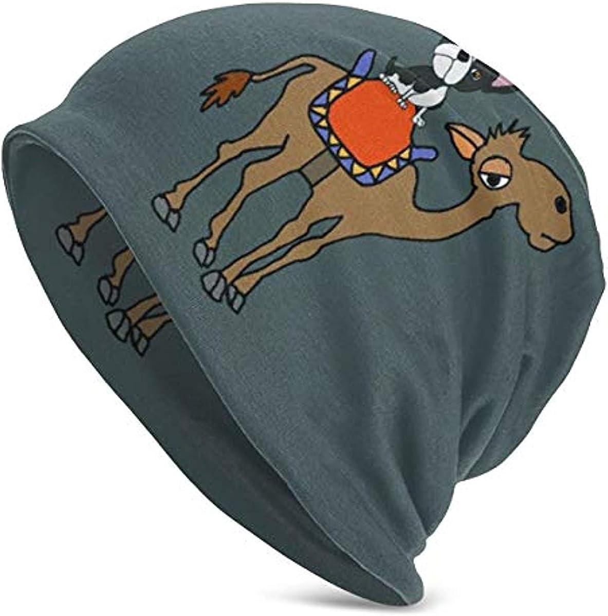 Boston Terrier Love Men/&Women Warm Winter Knit Plain Beanie Hat Skull Cap Acrylic Knit Cuff Hat