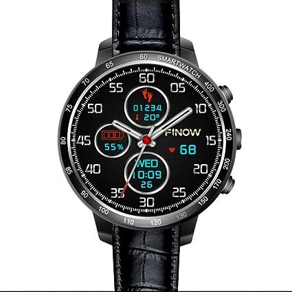 Pantalla táctil Smartwatch Soporte de tarjeta SIM Smart Watch Teléfono Frecuencia Cardíaca y tensiómetro de Salud