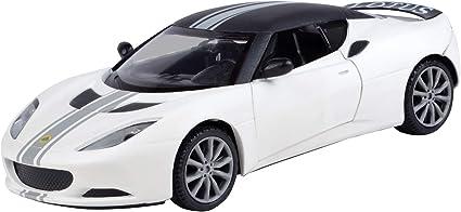 MOTORMAX SATIN PAINT LOTUS EVORA S WHITE 1//24 DIECAST CAR MODEL 79505