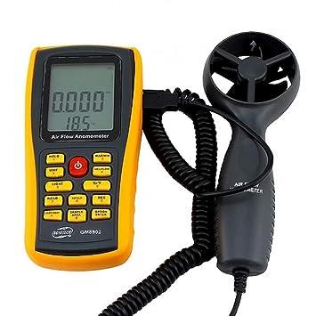 Lcd Medidor de Velocidad Del Viento Instrumento de Mano Anemómetro de Alta Precisión Digital Lcd Instrumento