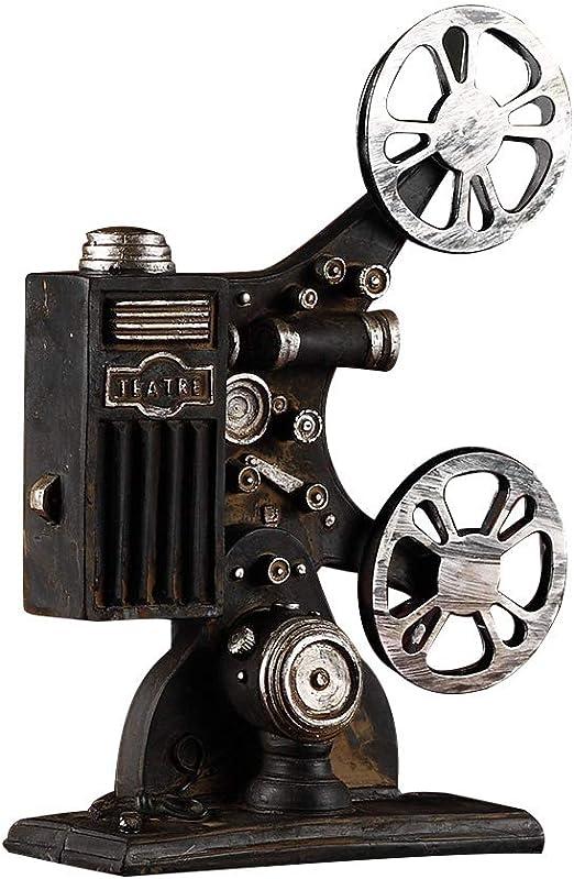VOSAREA Proyector de Cine Modelo Vintage Estilo Escritorio ...