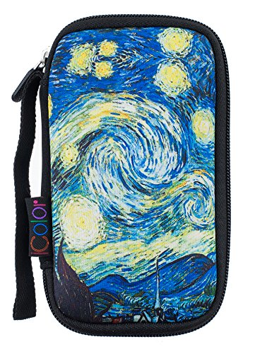 Capacity Usb Drive Shuttle - iColor Starry Universal Portable 8 USB Drive Shuttle 8-Capacity Case / Electronic Accessories Organizer Holder / Hard Drive Case Bag USB-02