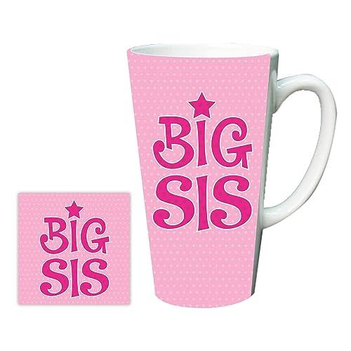 YaYa Cafe Birthday Gifts For Sister Big Sis Latte Mug