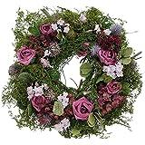"""Frank Flechtwaren - Ghirlanda decorativa """"Lila Rose"""""""